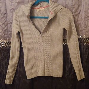 Old Navy Cableknit Hooded Pullover Sweater